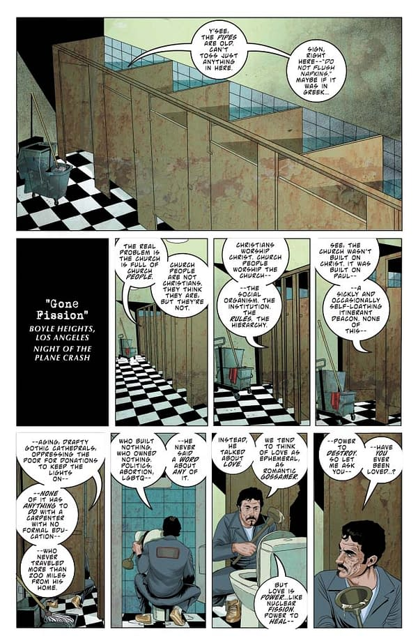Vampirella #10 preview page.