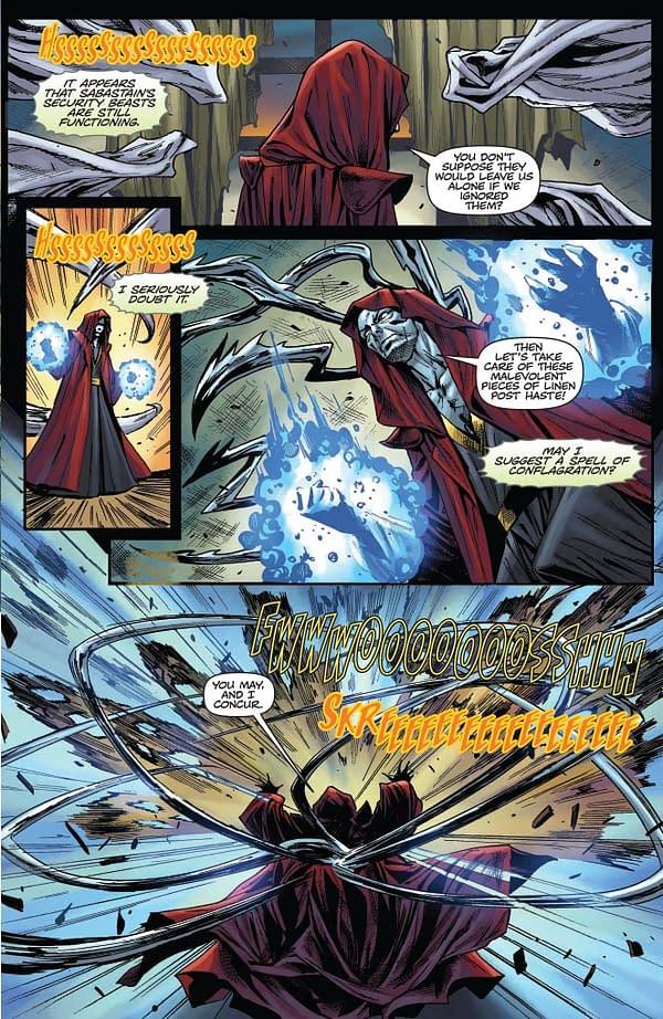Thomas E. Sniegoski's Writers Commentary on Vengeance Of Vampirella #8