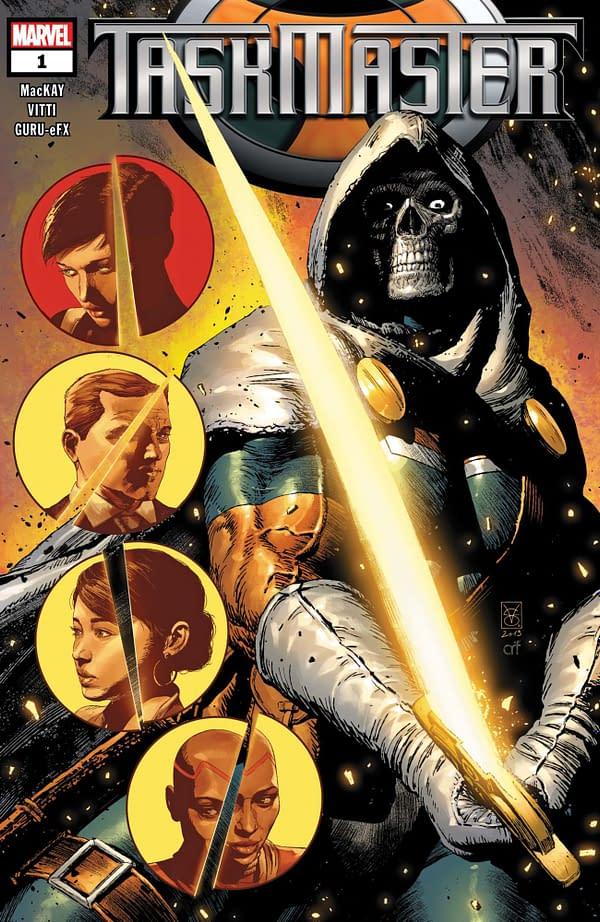 Taskmaster #1 Returns in November?
