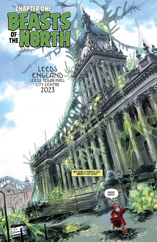 Richard Starkings is back with Ask for Mercy: Season Three #1. Credit: ComiXology Originals