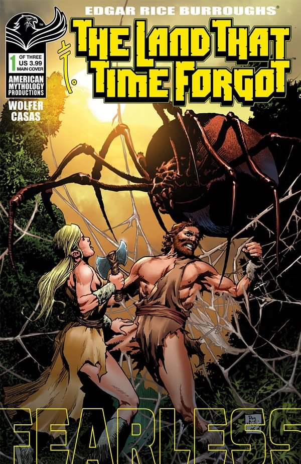 The Land That Time Forgot cover. Credit: American Mythology