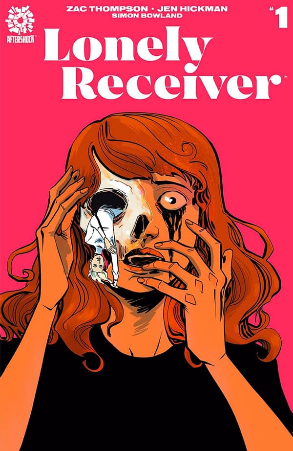 Lonely Receiver #1 cover. Credit: Aftershock Comics