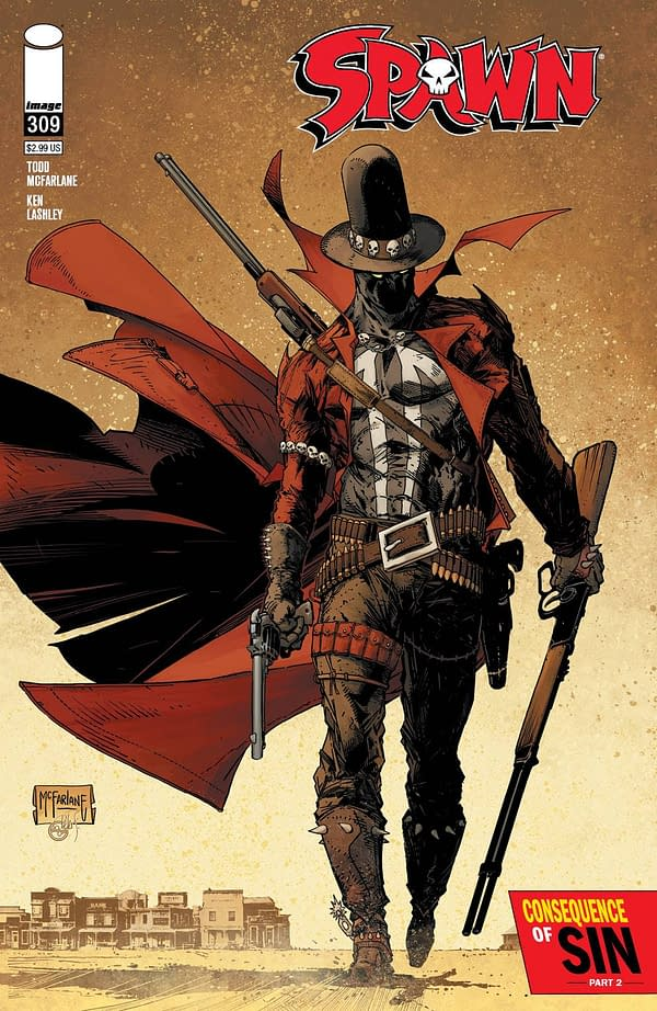Spawn's Comic Book Sales Jump Up 25% With Gunslinger Spawn