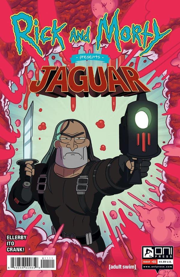 Rick & Morty Presents Jaguar in Oni/Lion Forge November 2020 Solicits