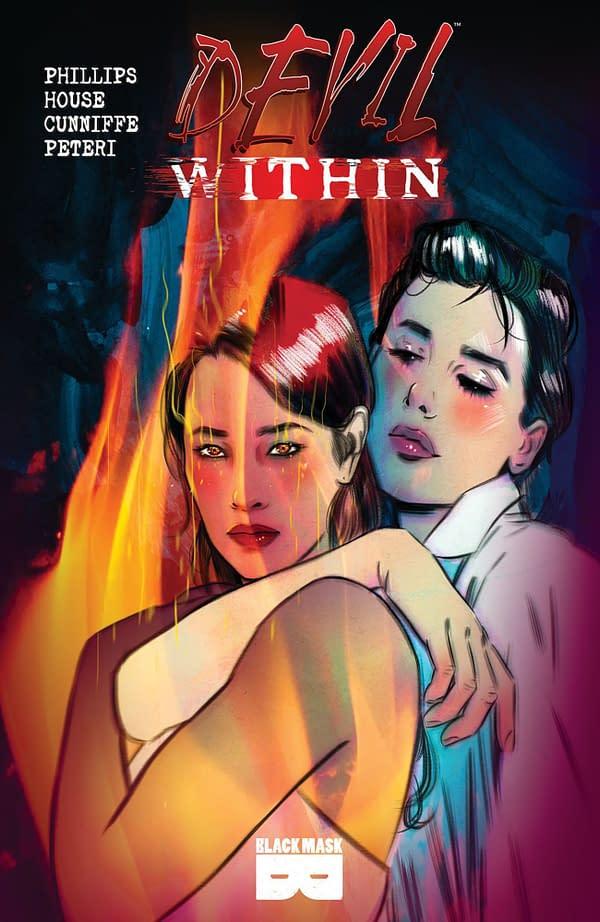 Devil Within cover. Credit: Black Mask Studios
