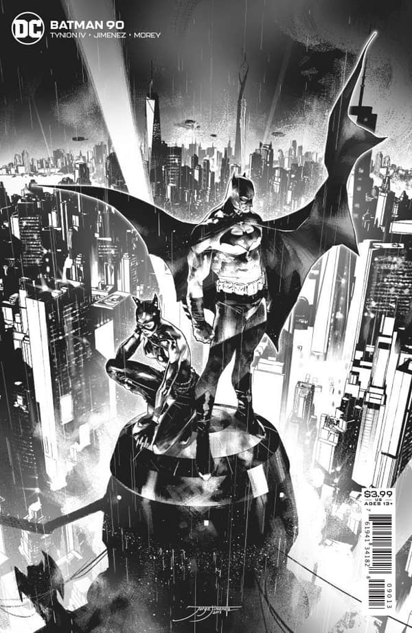 3rd printing cover to Batman #90.