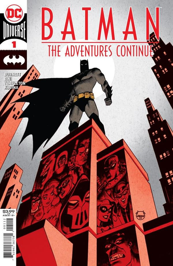 Batman: The Adventures Continue #1 cover.