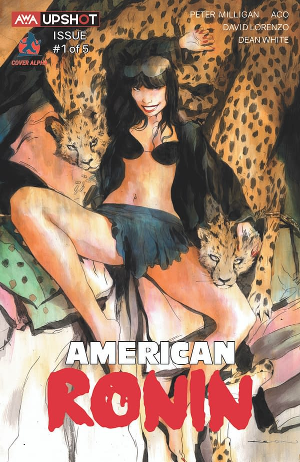 American Ronin: AWA Studios Announces Exclusive Variant Cover Program