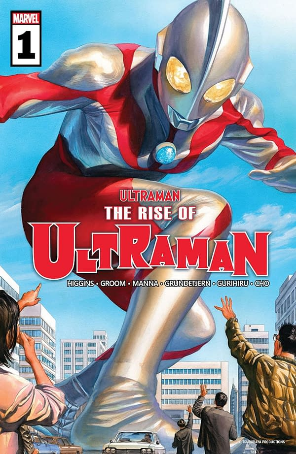 Ultraman: The Rise of Ultraman #1 cover. Credit: Marvel