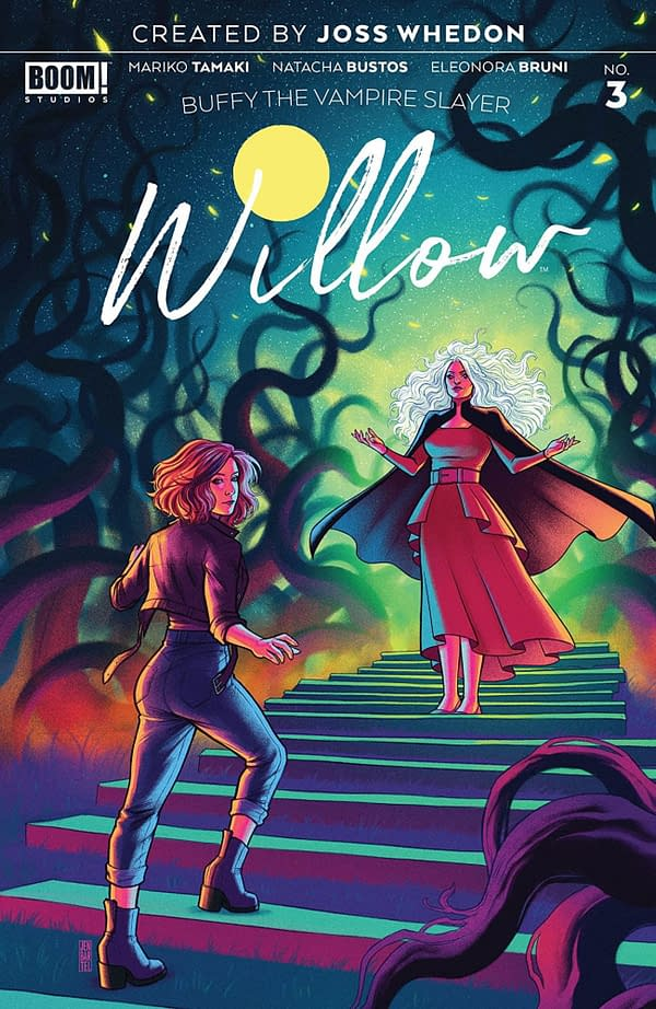 Buffy the Vampire Slayer: Willow #3 cover. Credit: BOOM! Studios
