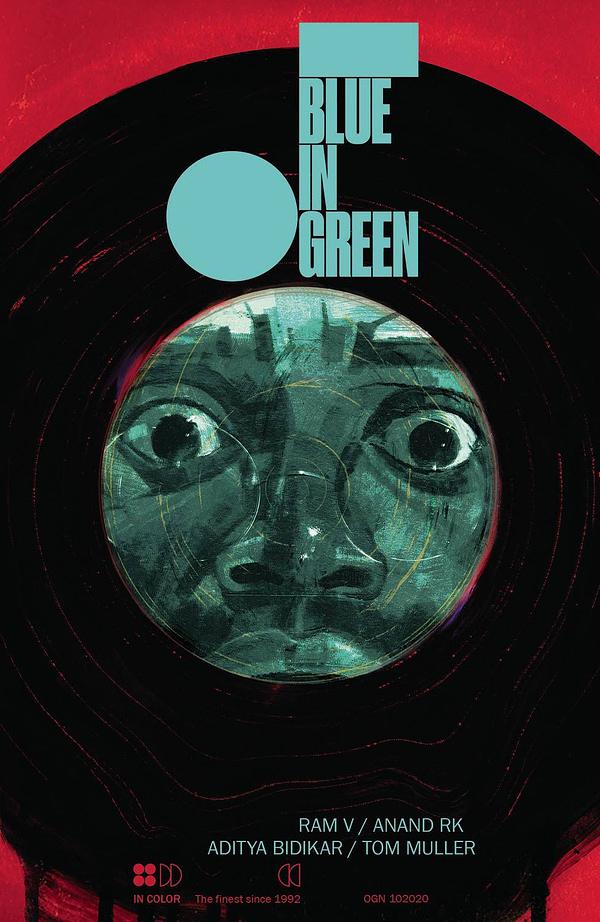 Ram V's Graphic Novel, Blue In Green, On FOC Today