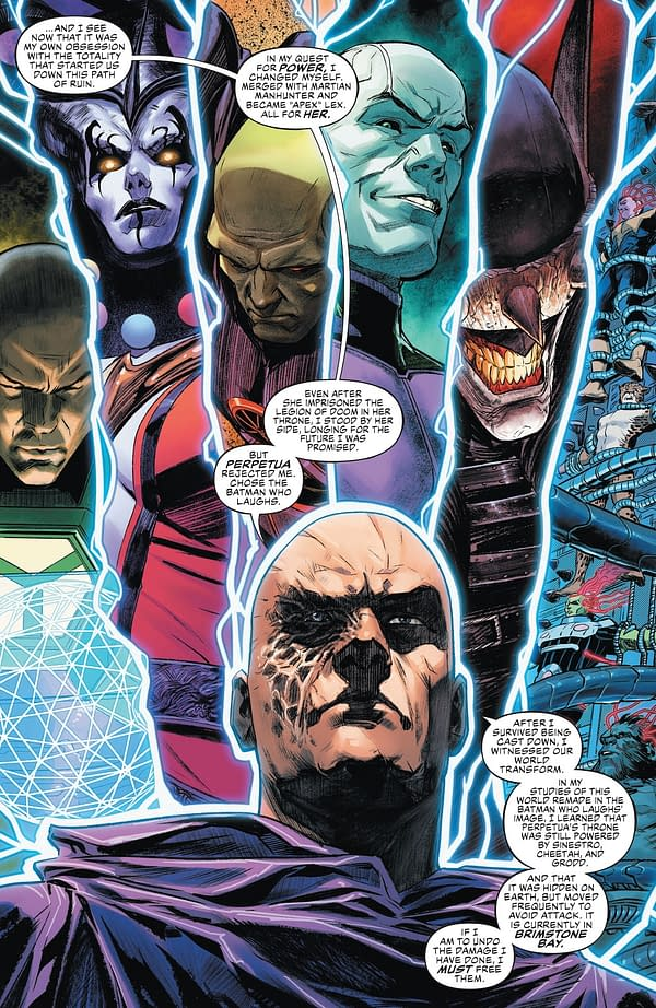 Lex Luthor The Good Guy Again - Justice League #53