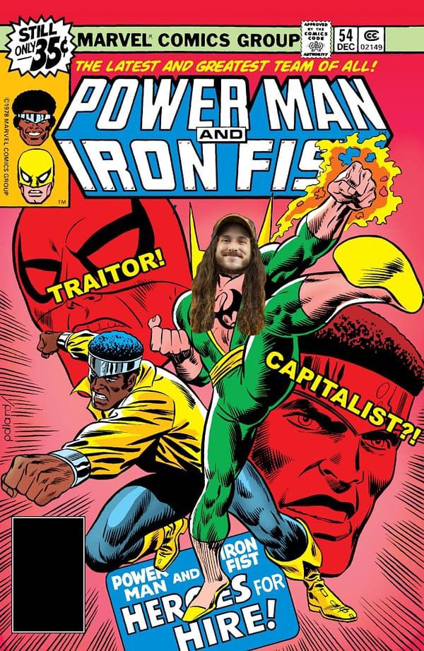 Comic book creator Aubrey Sitterson
