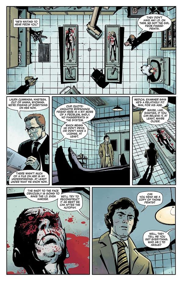 How Rorschach #1 Betrays, then Kills Steve Ditko
