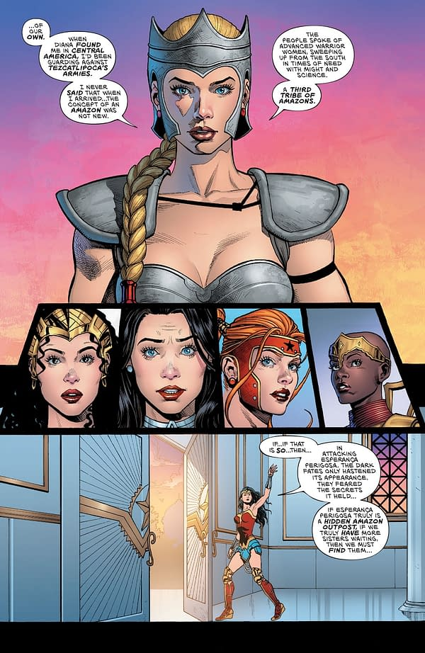 Did Future State WW Yara Flor First Appear In Wonder Woman Annual #4?