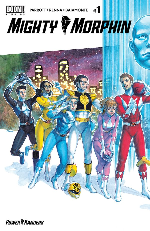 Mighty Morphin #1 Sells Over 20,000 Less Than Power Rangers #1