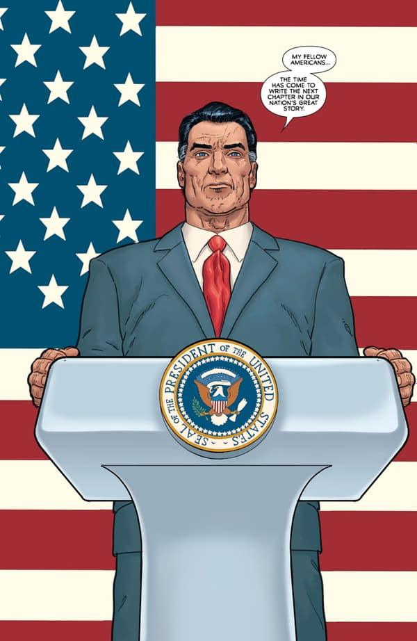 Image Comics Delays Steve Skroce's Post Americana Orders, For Big News