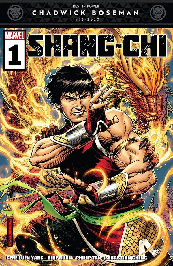 Shang-Chi #1 cover. Credit: Marvel