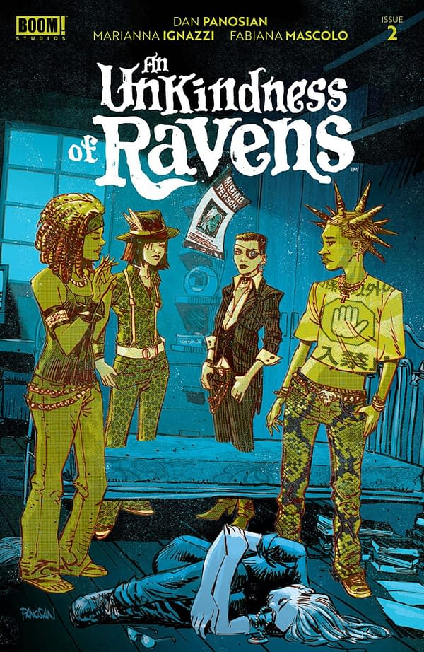 An Unkindness of Ravens #2 cover. Credit: BOOM! Studios