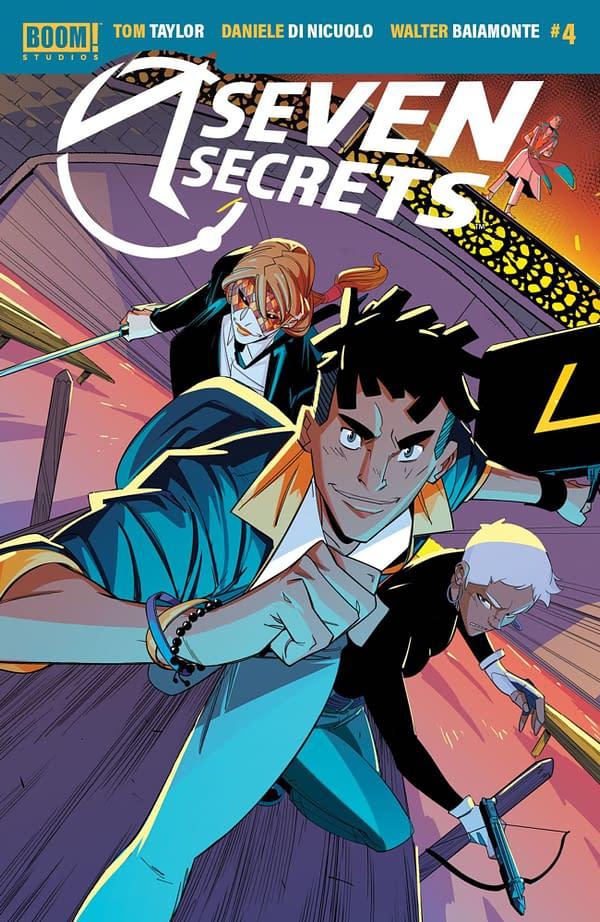 Seven Secrets #4 cover. Credit: BOOM! Studios