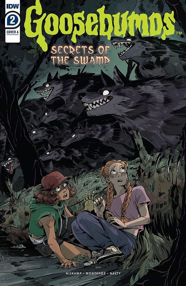 Goosebumps: Secrets of the Swamp #2 cover. Credit: IDW