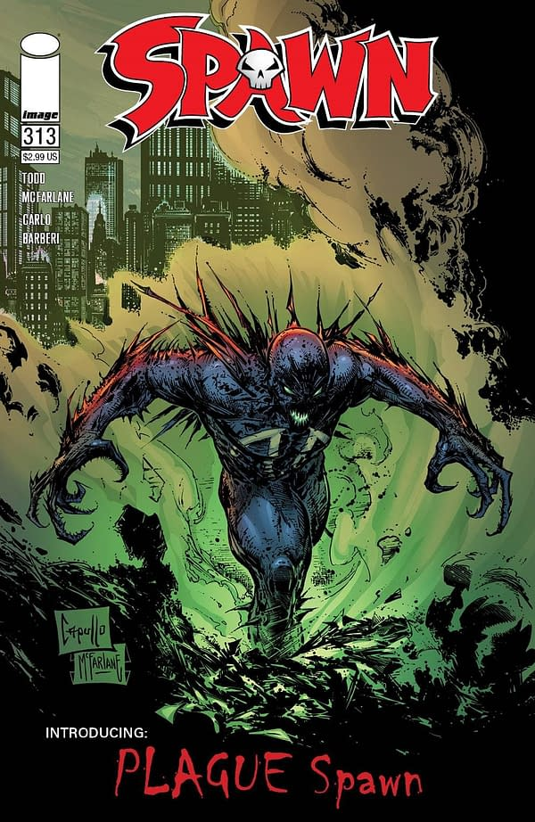 "Spawn #313 Introduces ""Plague Spawn"" In December"
