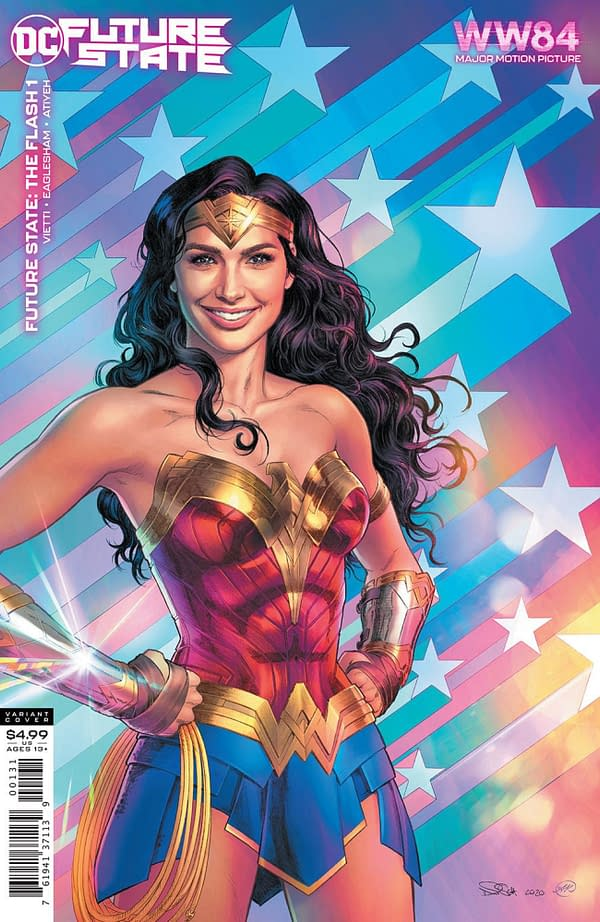 Wonder Woman 1984 Variant Covers Now Rescheduled By DC For January