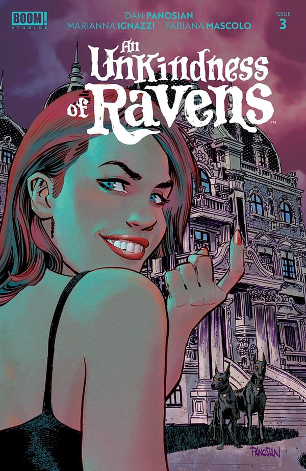 An Unkindness of Ravens #3 cover. Credit: BOOM! Studios