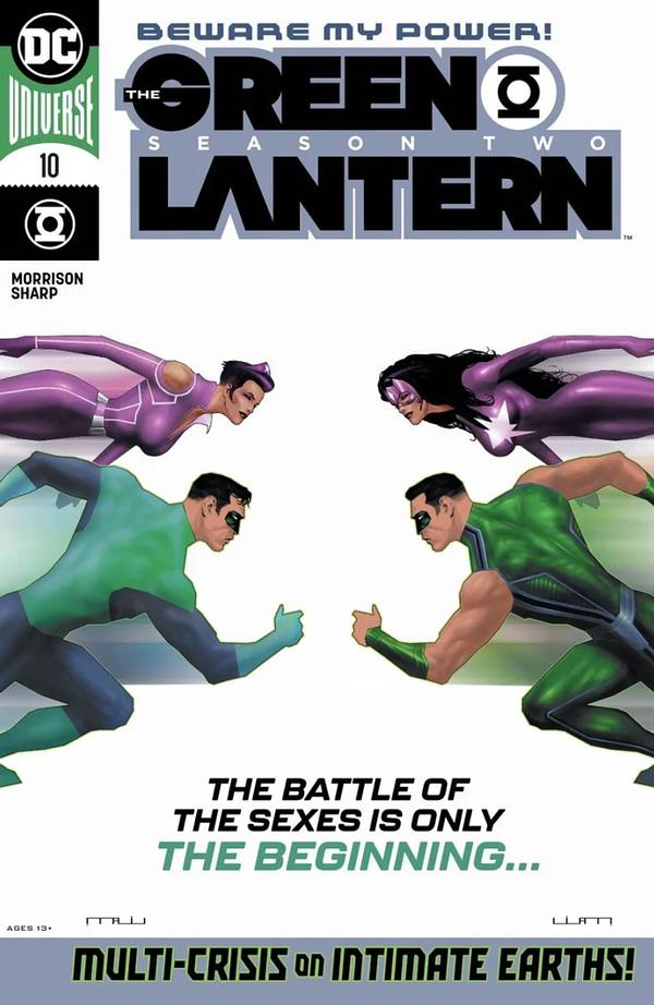 Green Lantern #10 cover