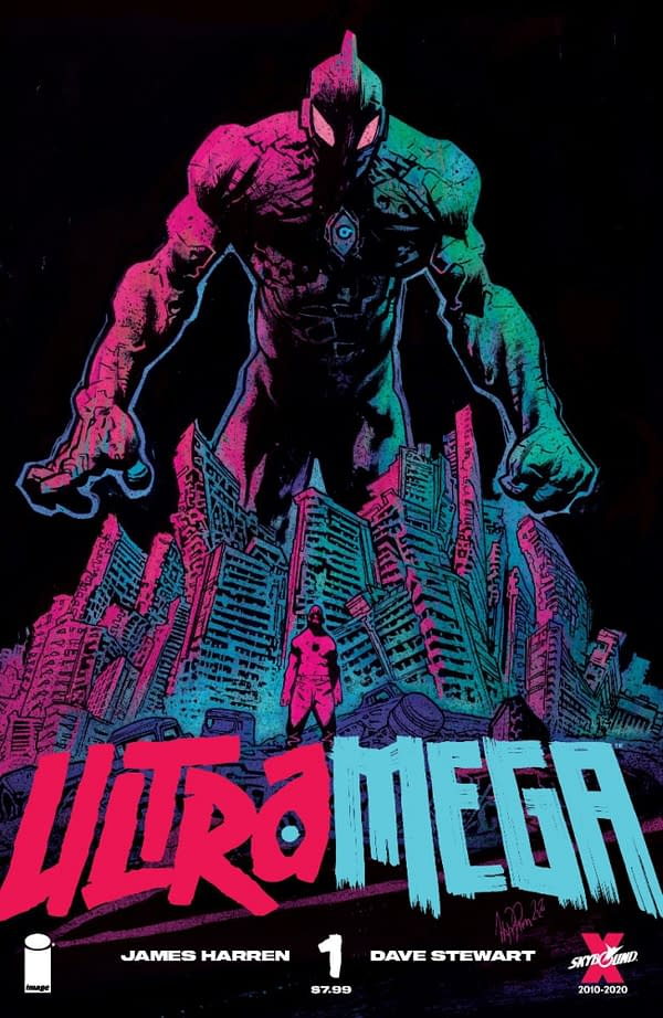 Not Ultraman - It's Ultramega from James Harren and Dave Stewart