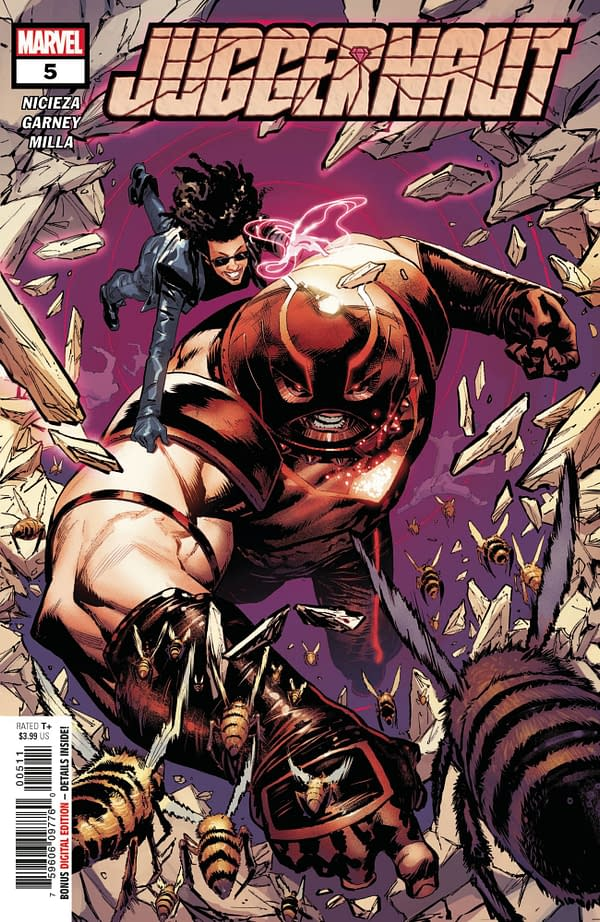 The cover to Juggernaut #5