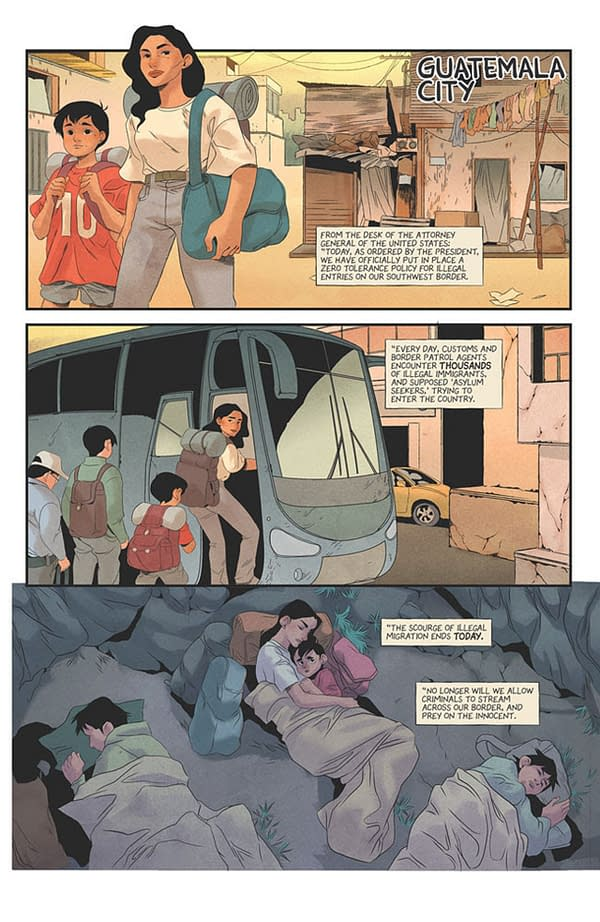 Home: Immigration, Border Patrol and Superpowers in New Image Comics