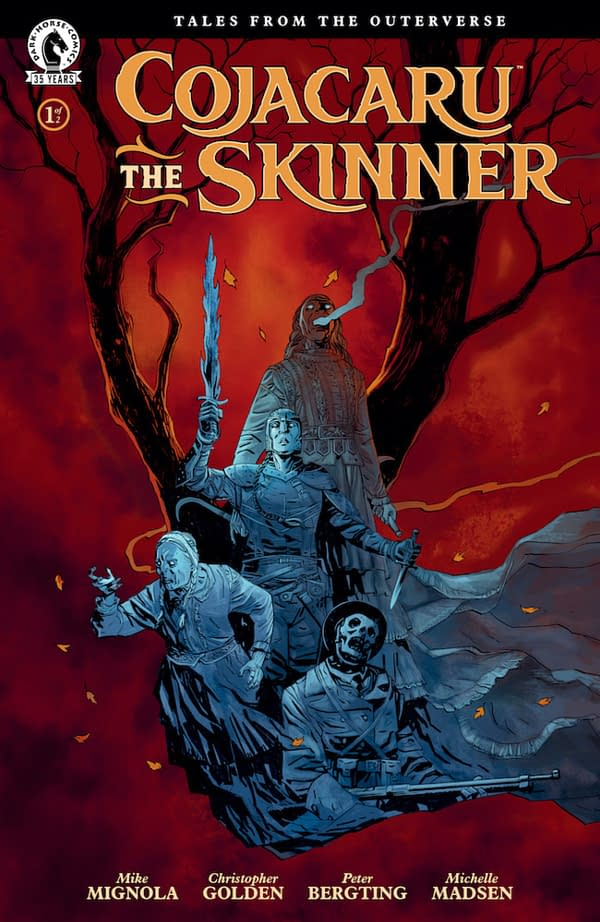 """Mike Mignola and Christopher Golden Expand """"Outerverse"""" Continuity"""