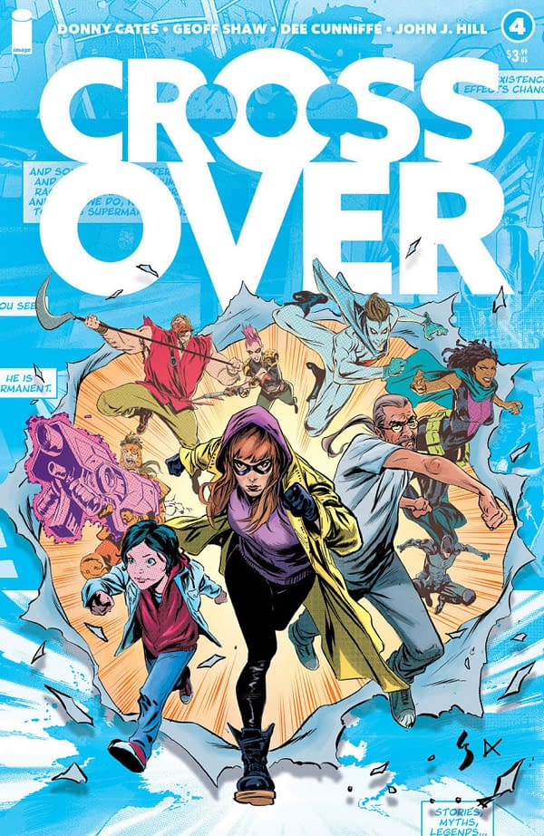 Crossover #4 Has Censored Comics Character Guest-Star