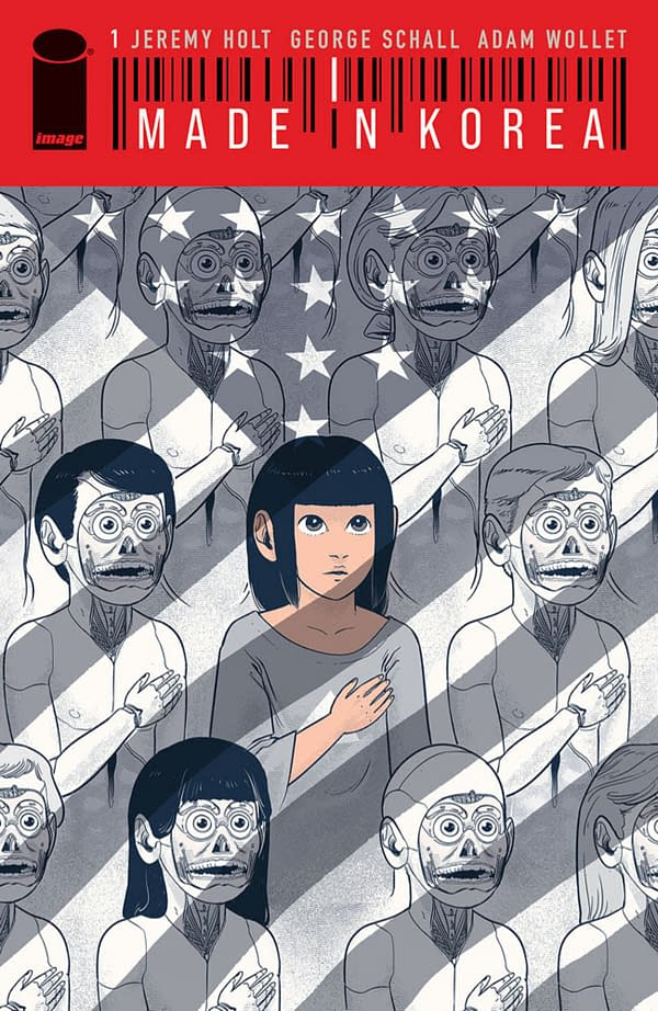 Made In Korea by Jeremy Holt & George Schall From Image Comics In May
