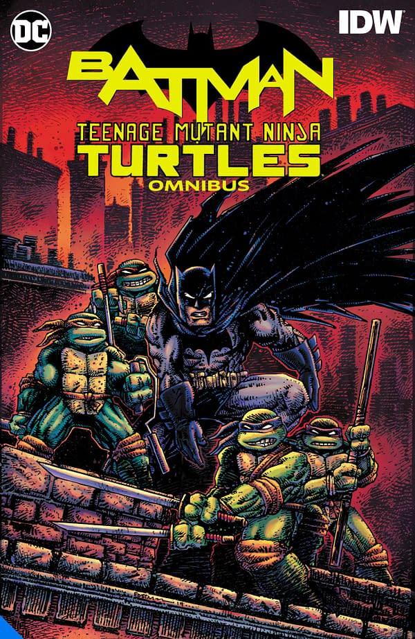 DC To Collect Entire Batman/Teenage Mutant Ninja Turtles Omnibus