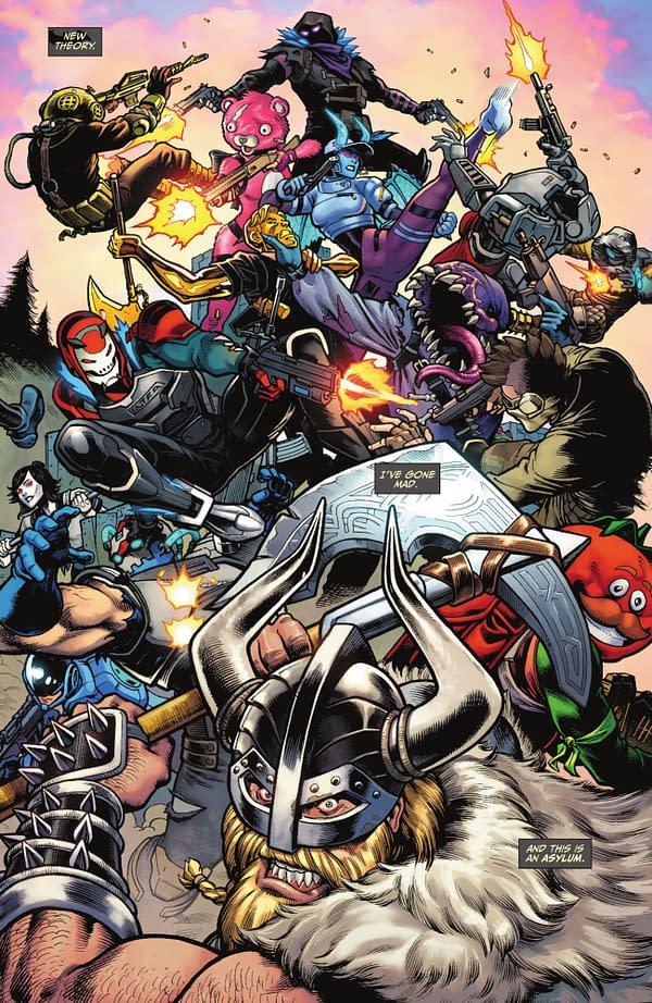 DC ComicsBatman/Fortnite #1 Comics Sell For $25 on eBay Over Harley Quinn Skin