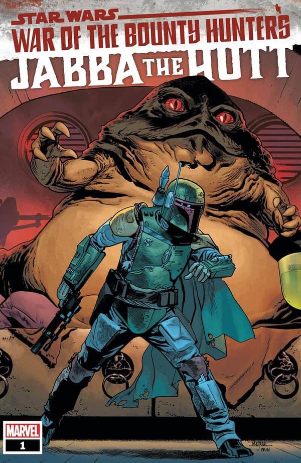 Jabba Hutt Joins Marvel Comics' Star Wars: War Of The Bounty Hunters