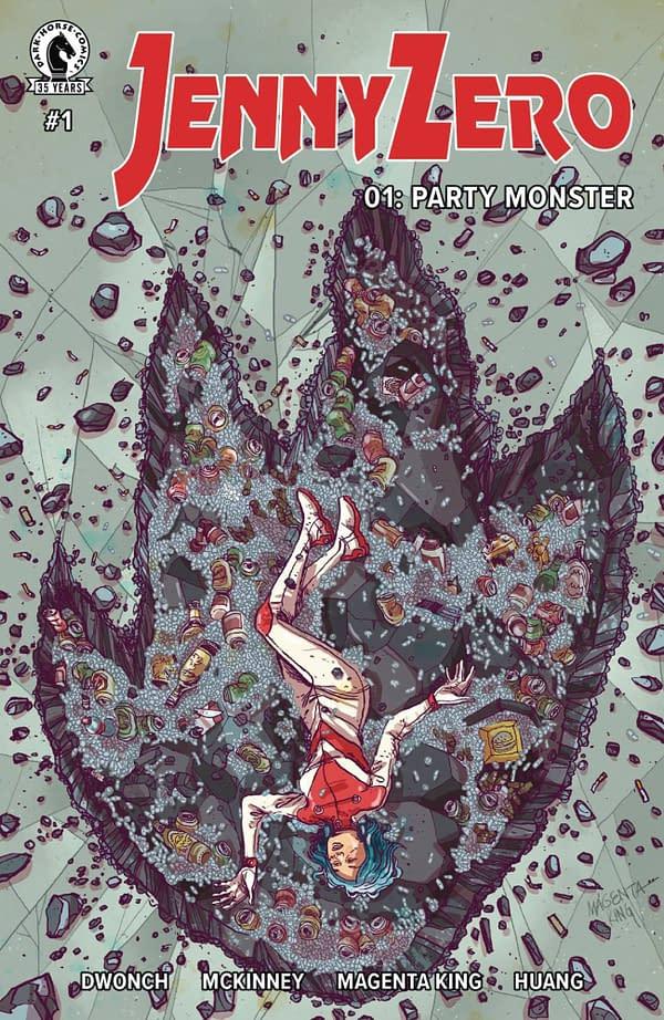 Dark Horse Recalls And Reprints Jenny Zero #1, Goes To $30 on eBay