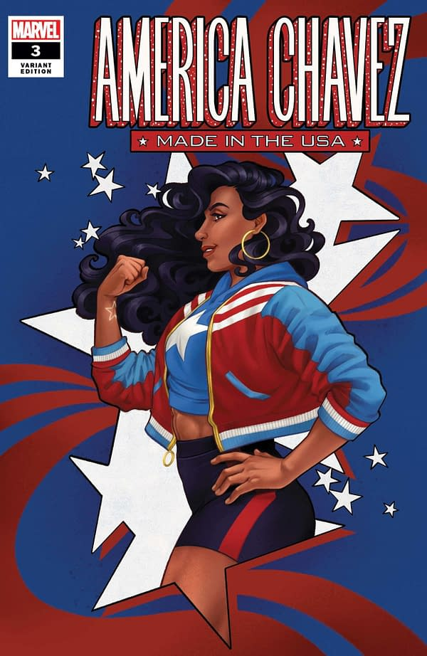 Cover image for AMERICA CHAVEZ MADE IN USA #3 (OF 5) COLA VAR