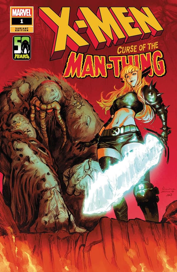 Cover image for X-MEN CURSE MAN-THING #1 ZITRO VAR