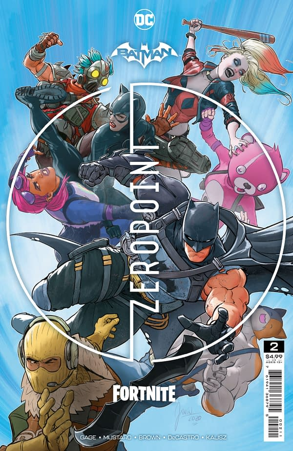 Image de couverture pour BATMAN FORTNITE ZERO POINT # 2 (OF 6) CVR A MIKEL JANÌN