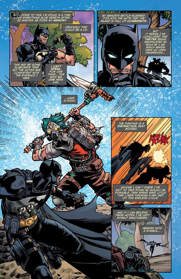 Interior preview page from BATMAN FORTNITE ZERO POINT #2 (OF 6) CVR A MIKEL JANÌN