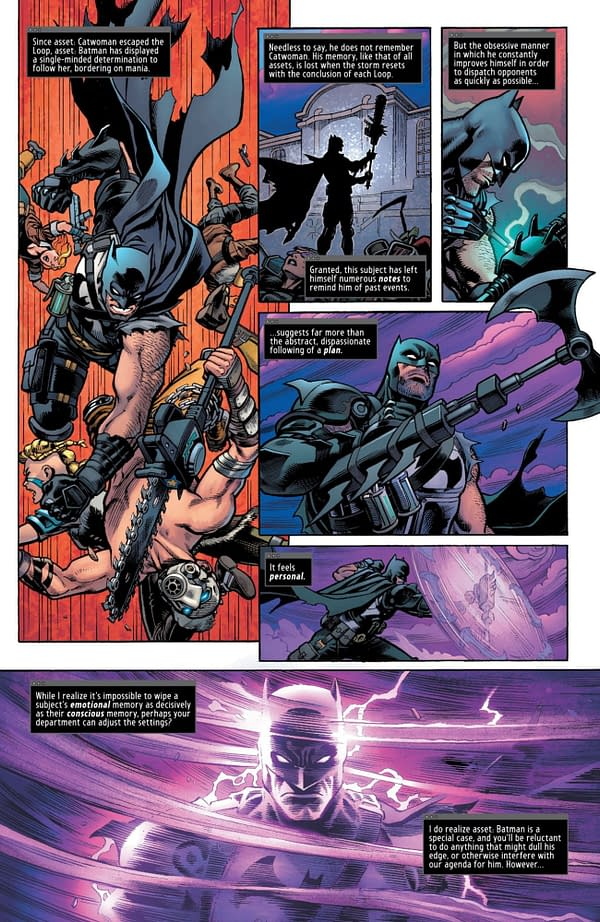 Interior preview page from BATMAN FORTNITE ZERO POINT #3 (OF 6) CVR A MIKEL JANÌN