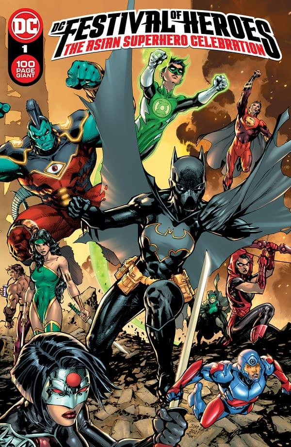 Cover image for DC FESTIVAL OF HEROES THE ASIAN SUPERHERO CELEBRATION #1 (ONE SHOT) CVR A JIM LEE