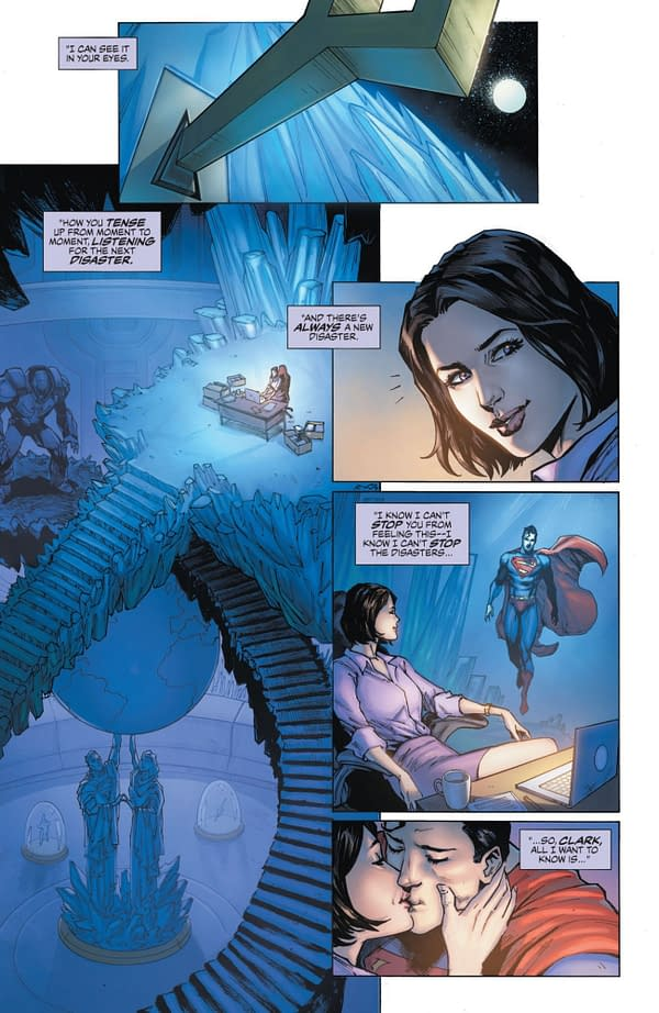 Interior preview page from JUSTICE LEAGUE LAST RIDE #1 CVR A DARICK ROBERTSON