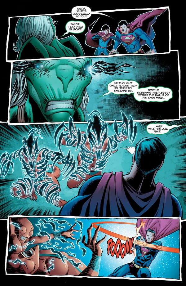 Interior preview page from SUPERMAN #31 CVR A JOHN TIMMS