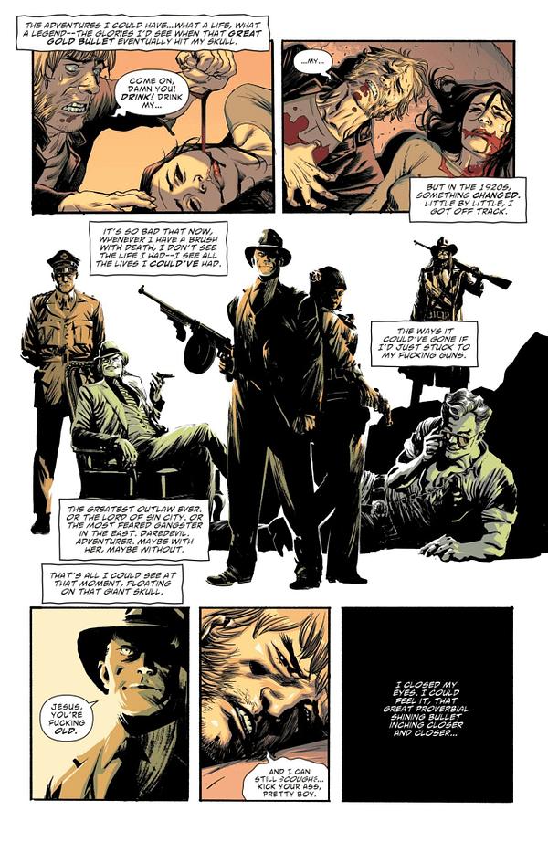 Interior preview page from AMERICAN VAMPIRE 1976 #8 (OF 10) CVR A RAFAEL ALBUQUERQUE (MR)