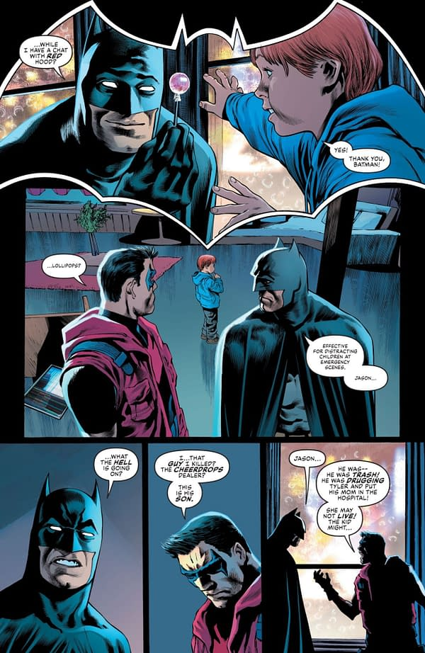 Interior preview page from BATMAN URBAN LEGENDS #3 CVR A JOHN ROMITA JR & KLAUS JANSON