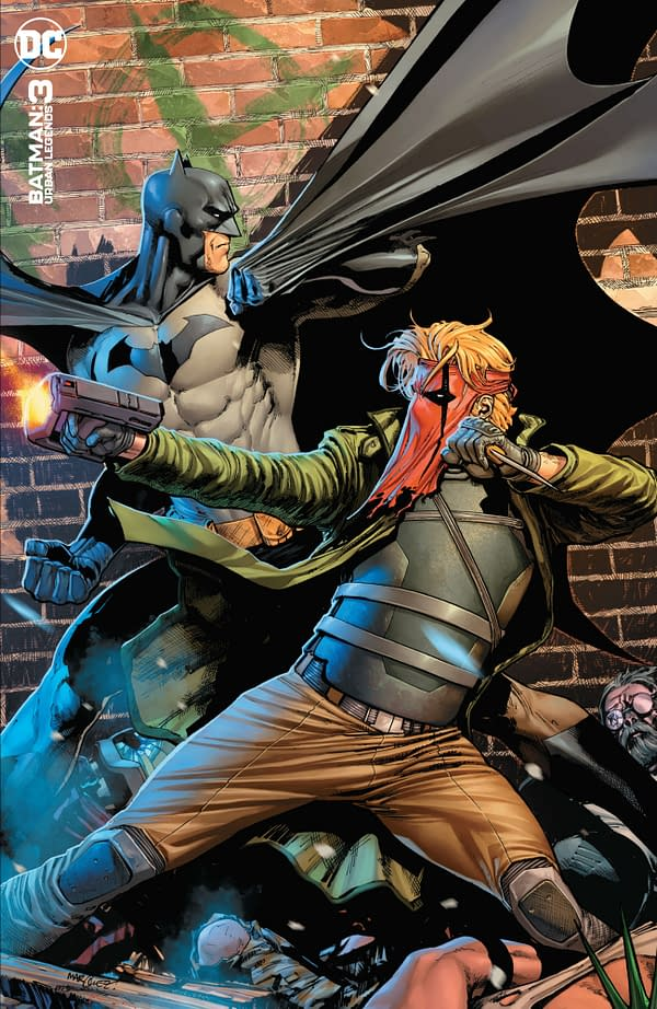 Cover image for BATMAN URBAN LEGENDS #3 CVR B DAVID MARQUEZ VAR